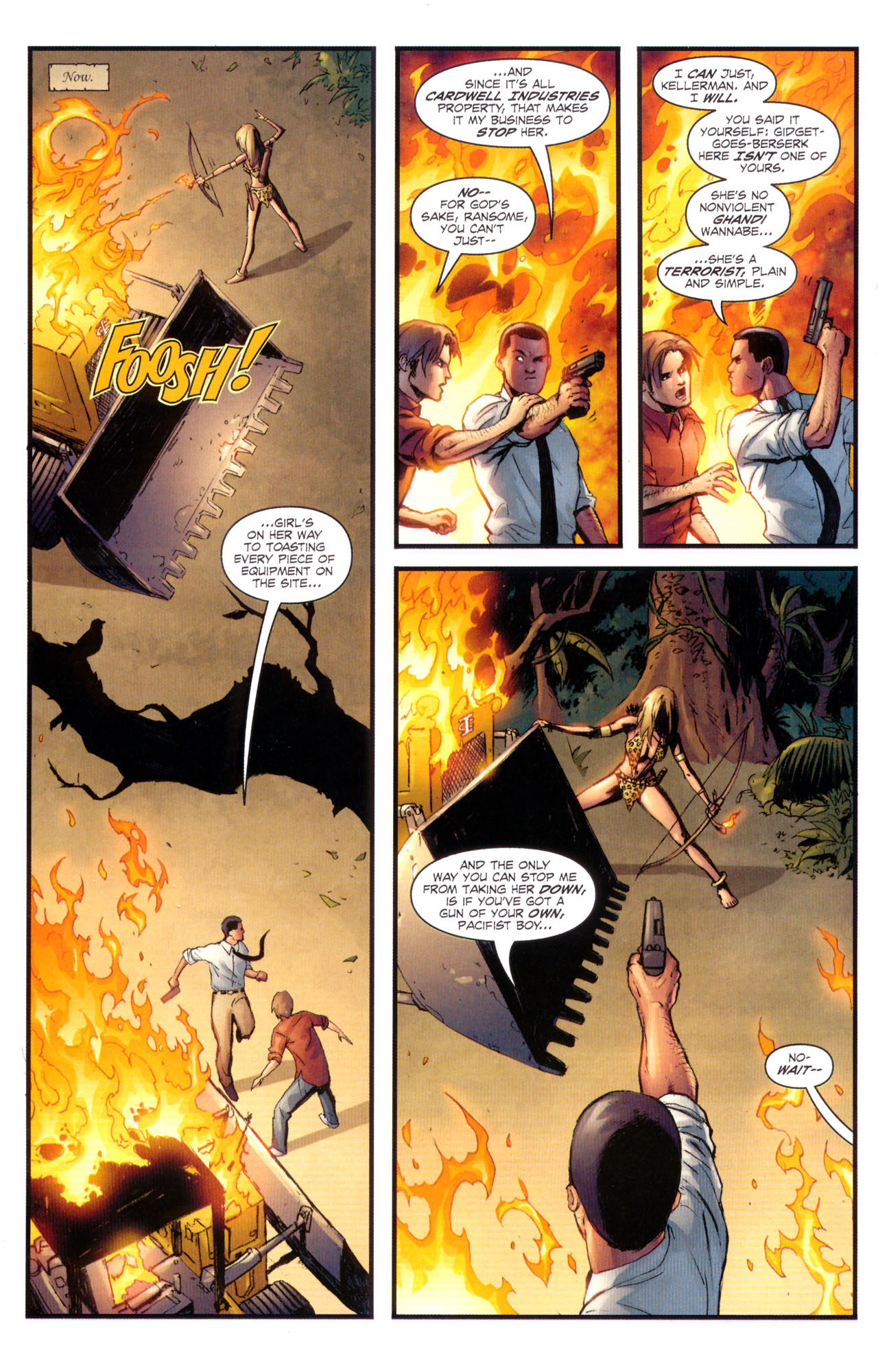 Read online Sheena, Queen of the Jungle comic -  Issue #1 - 11