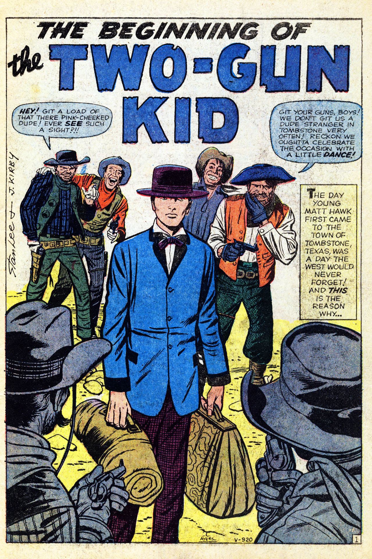 Read online Two-Gun Kid comic -  Issue #60 - 3