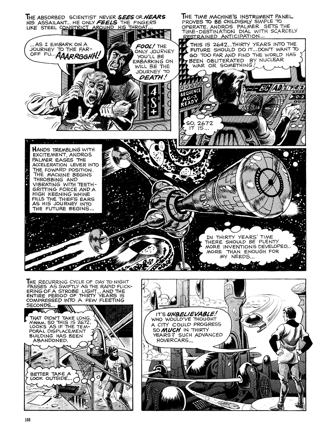 Read online Eerie Archives comic -  Issue # TPB 8 - 169