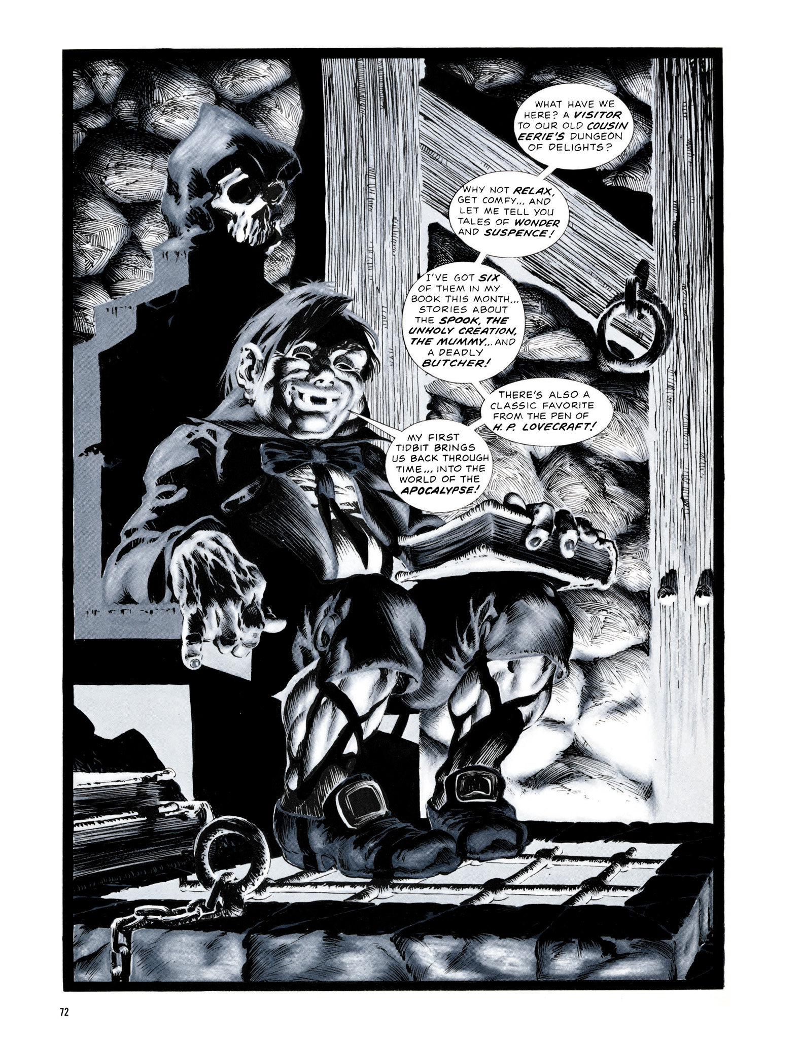 Read online Eerie Archives comic -  Issue # TPB 13 - 73