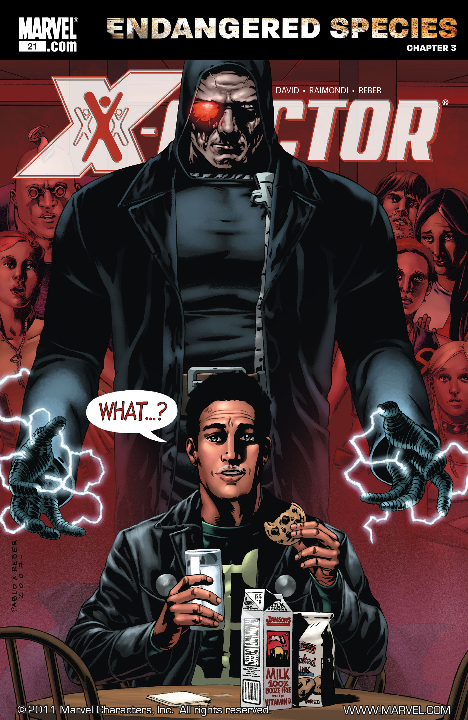 Read online X-Factor (2006) comic -  Issue #21 - 1