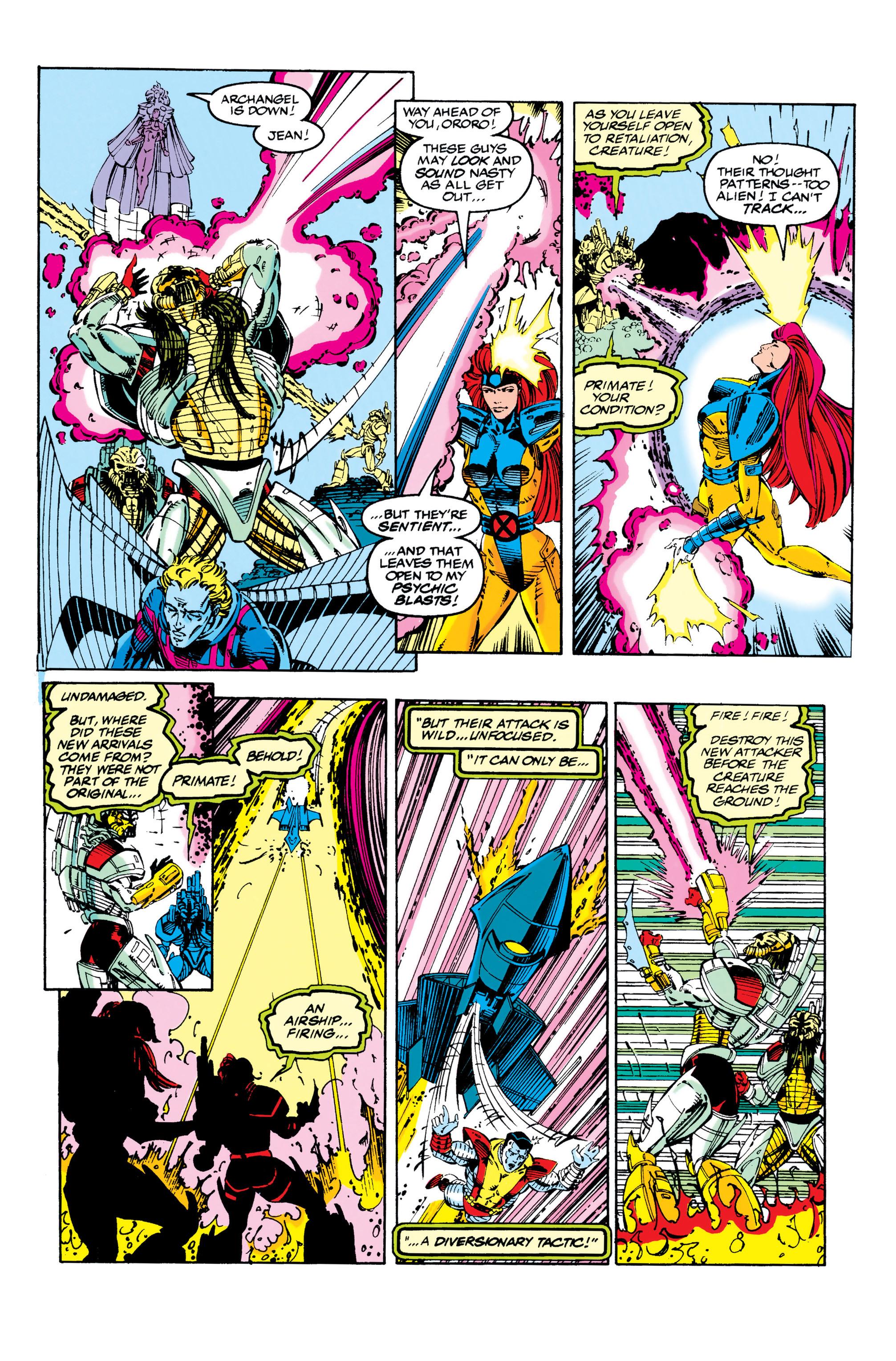 Read online Uncanny X-Men (1963) comic -  Issue #284 - 12