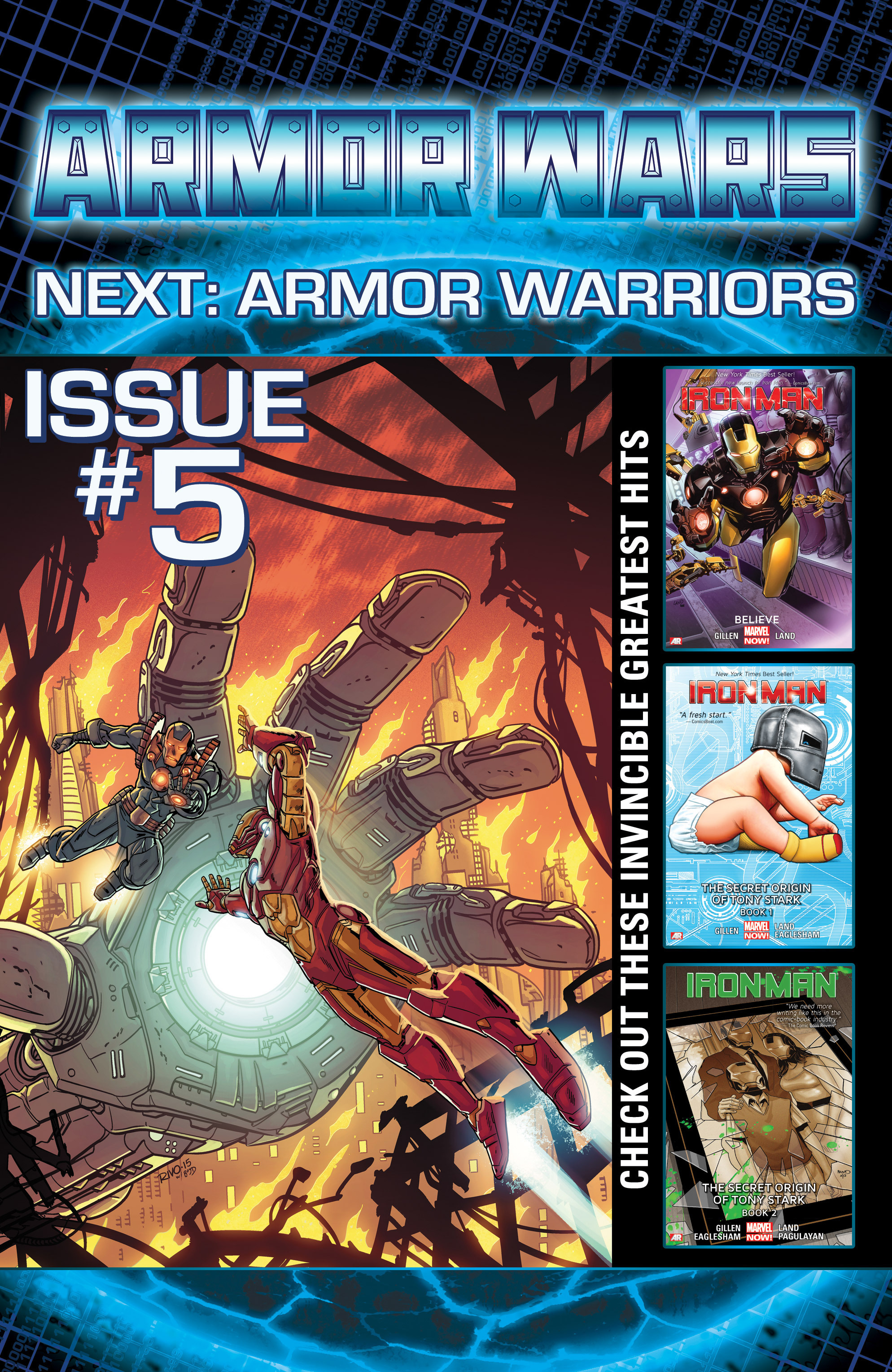 Read online Armor Wars comic -  Issue #4 - 19