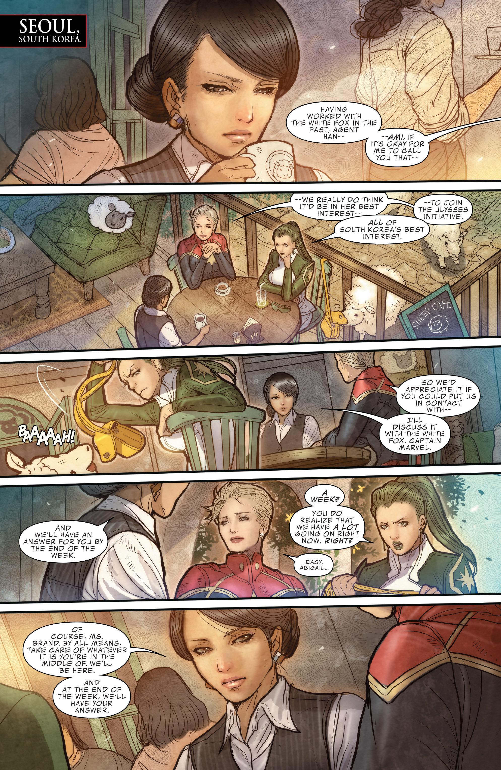 Read online Civil War II: Choosing Sides comic -  Issue #6 - 11