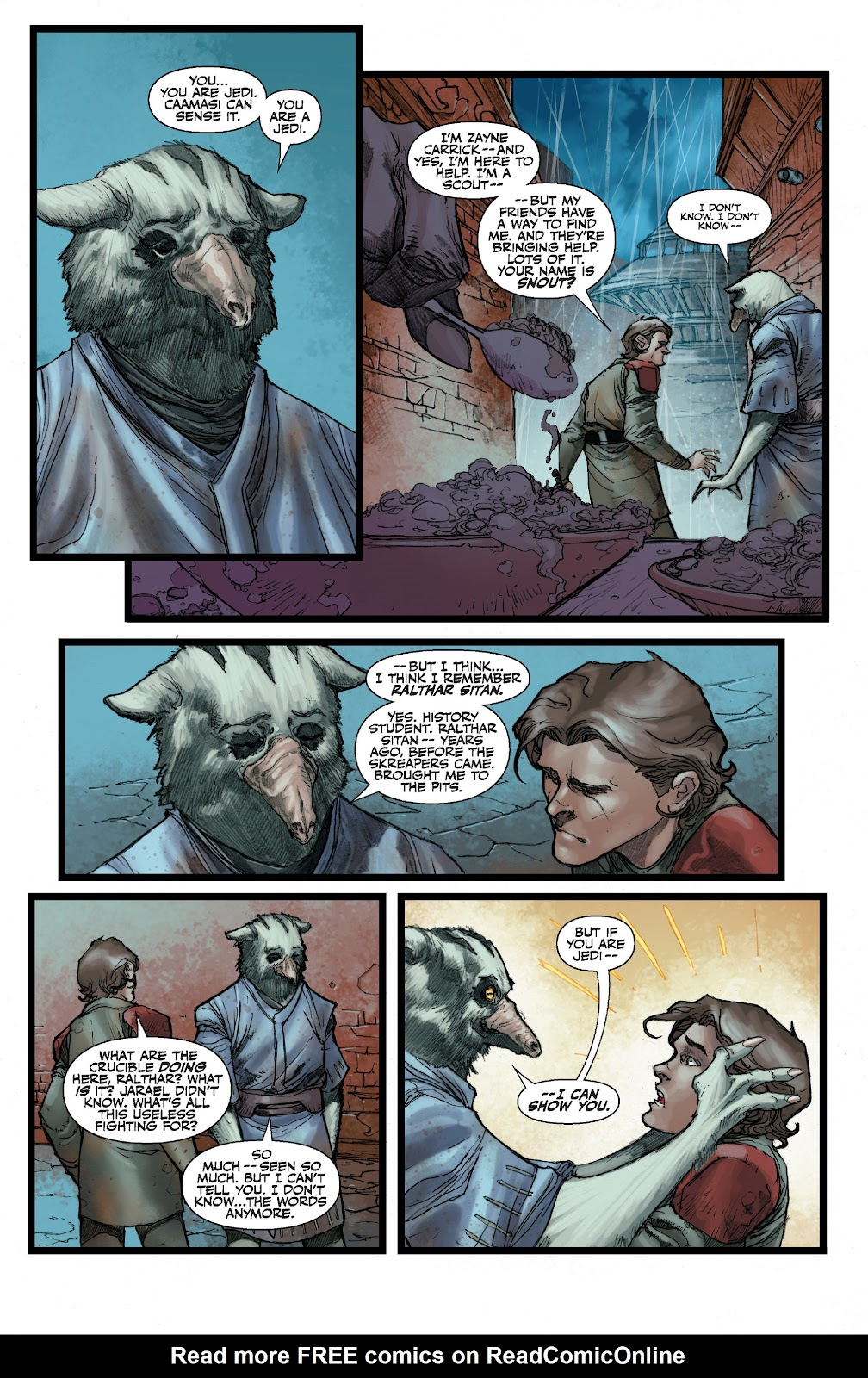 Read online Star Wars Legends: The Old Republic - Epic Collection comic -  Issue # TPB 3 (Part 2) - 81