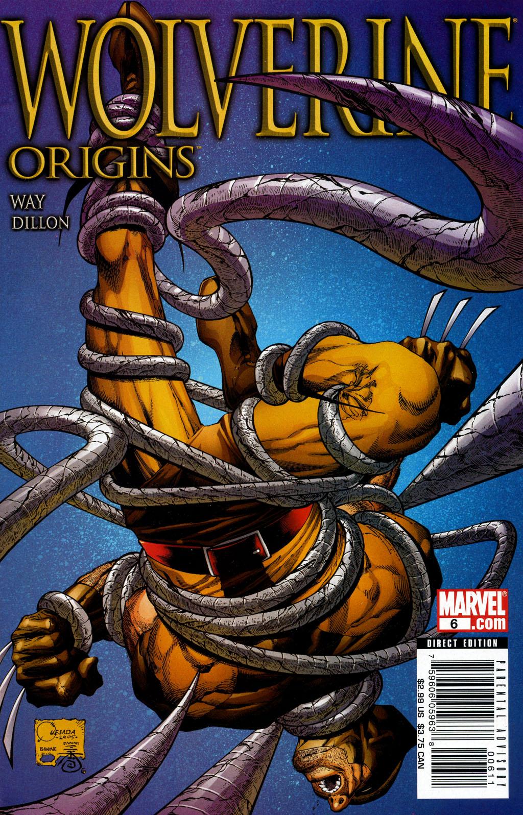 Read online Wolverine: Origins comic -  Issue #6 - 1