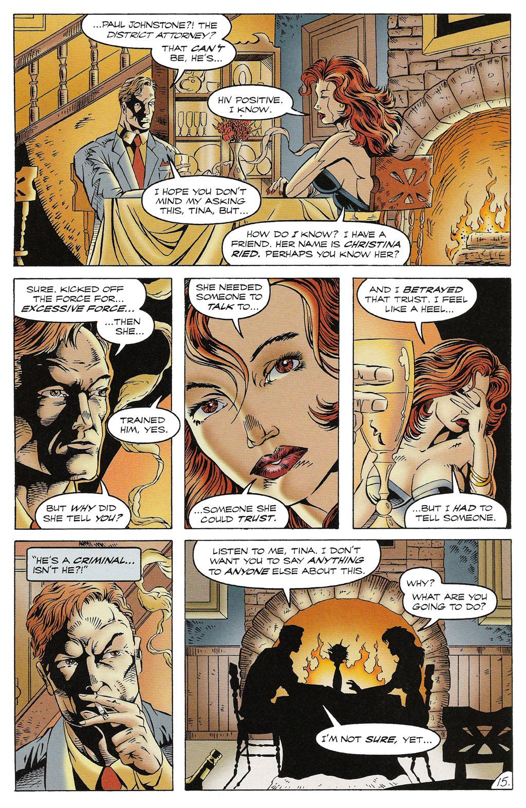 Read online ShadowHawk comic -  Issue #16 - 14