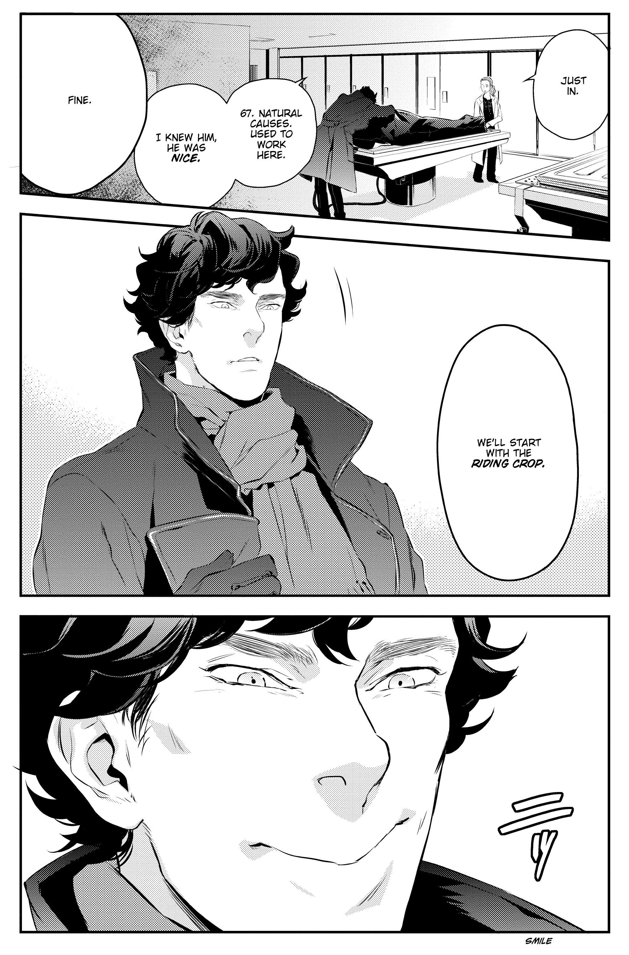 Read online Sherlock: A Study In Pink comic -  Issue #1 - 25