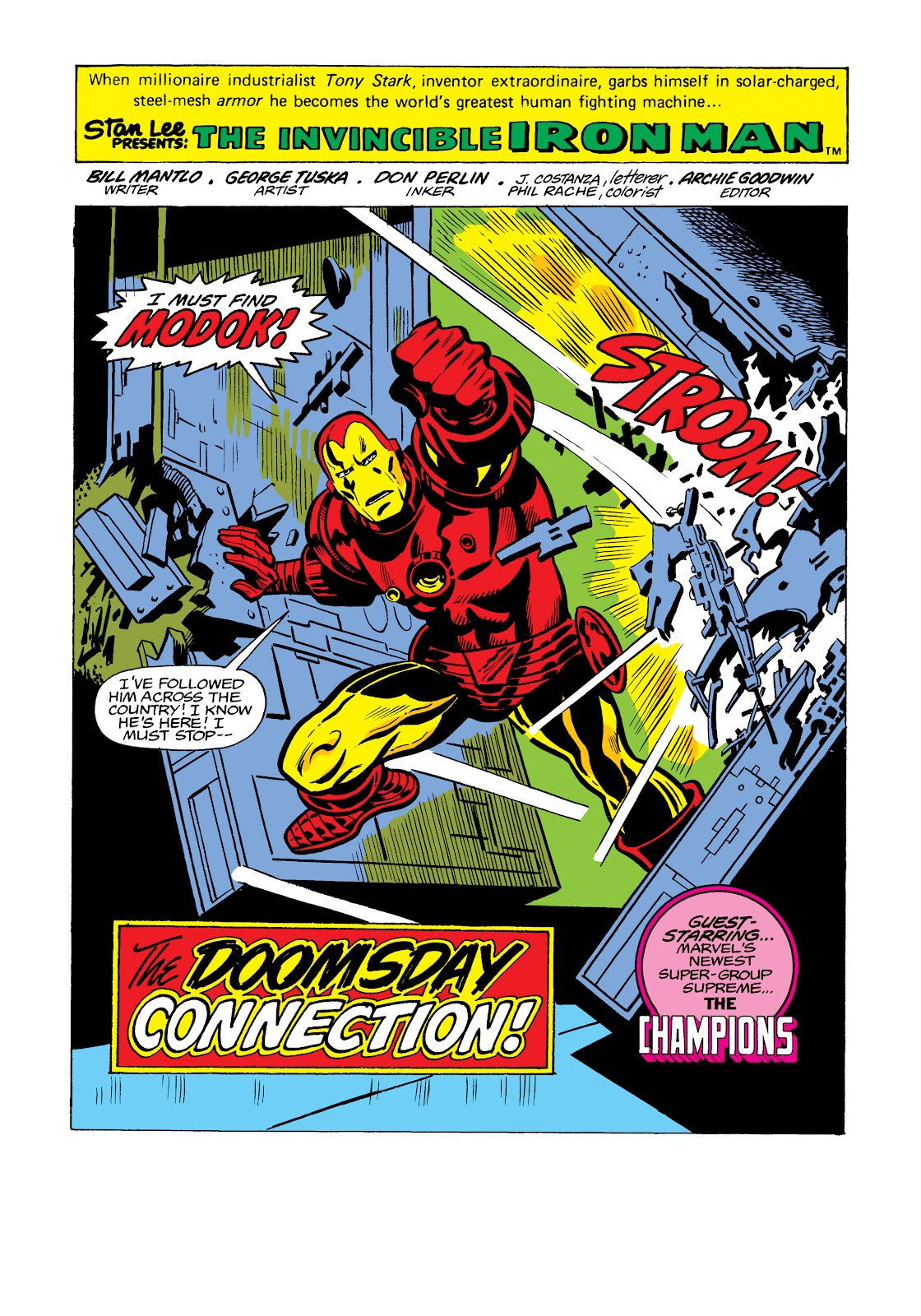 Read online Marvel Masterworks: The Invincible Iron Man comic -  Issue # TPB 11 (Part 3) - 86