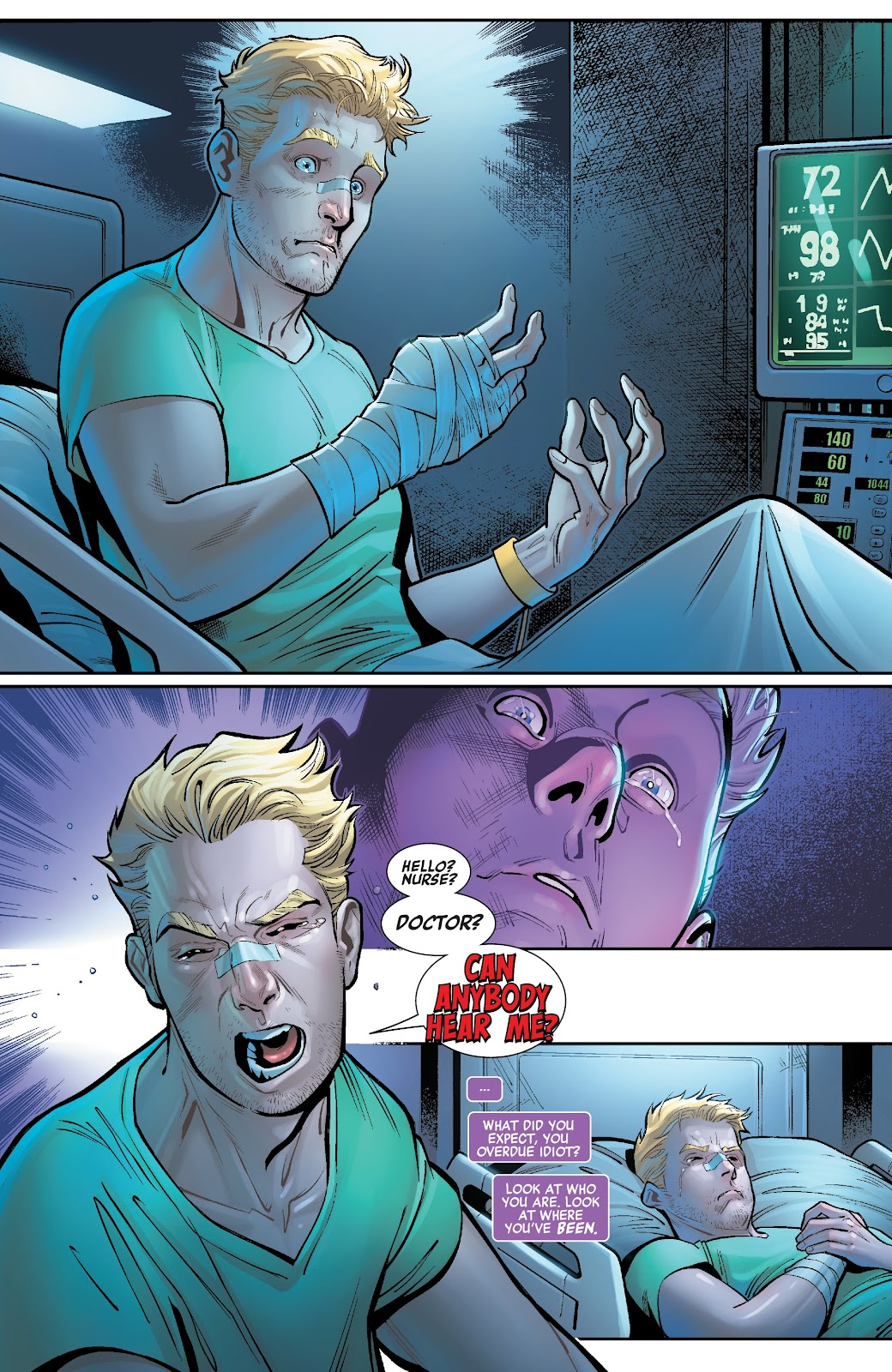 Read online Avengers No Road Home comic -  Issue #2 - 21