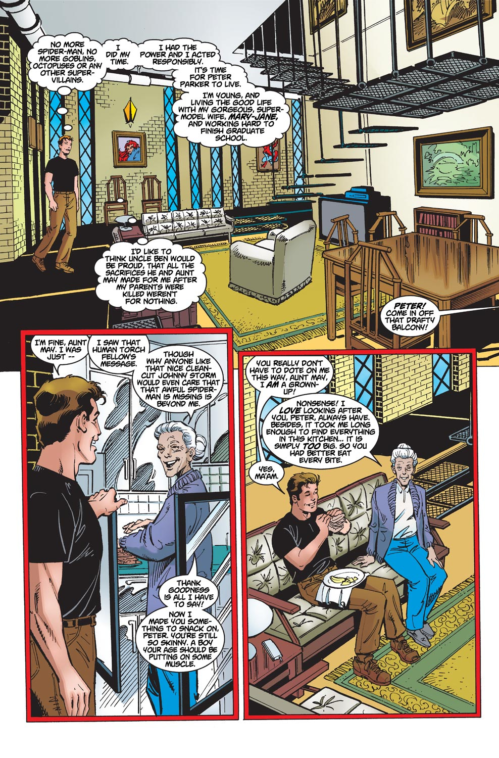 The Amazing Spider-Man (1999) 1 Page 4