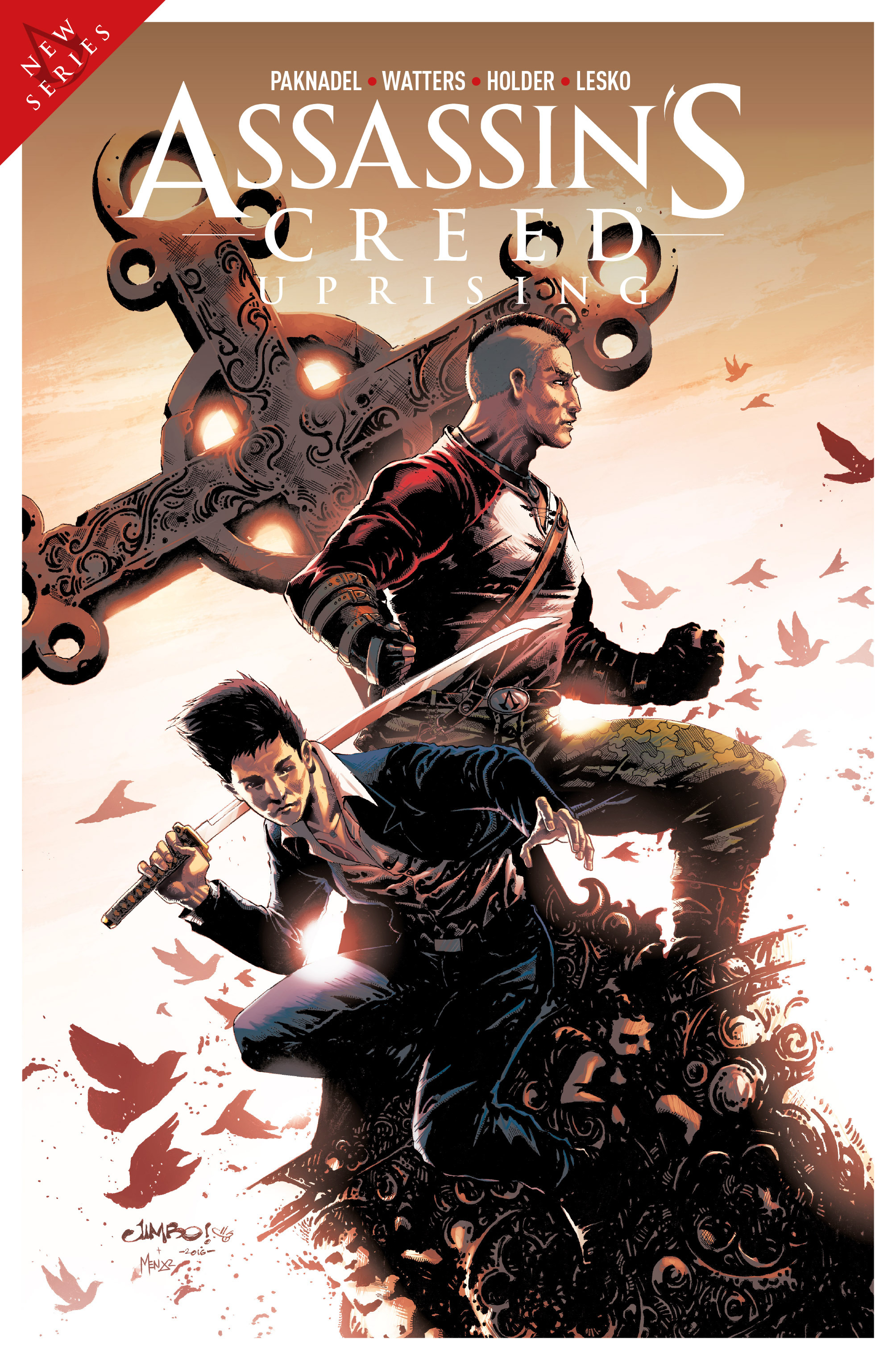Read online Assassin's Creed: Uprising comic -  Issue #1 - 34