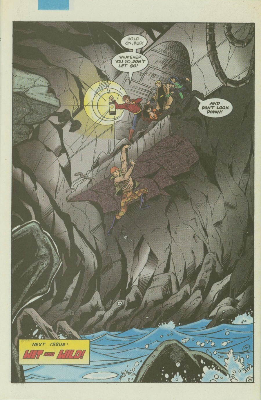 Read online Ex-Mutants comic -  Issue #4 - 29