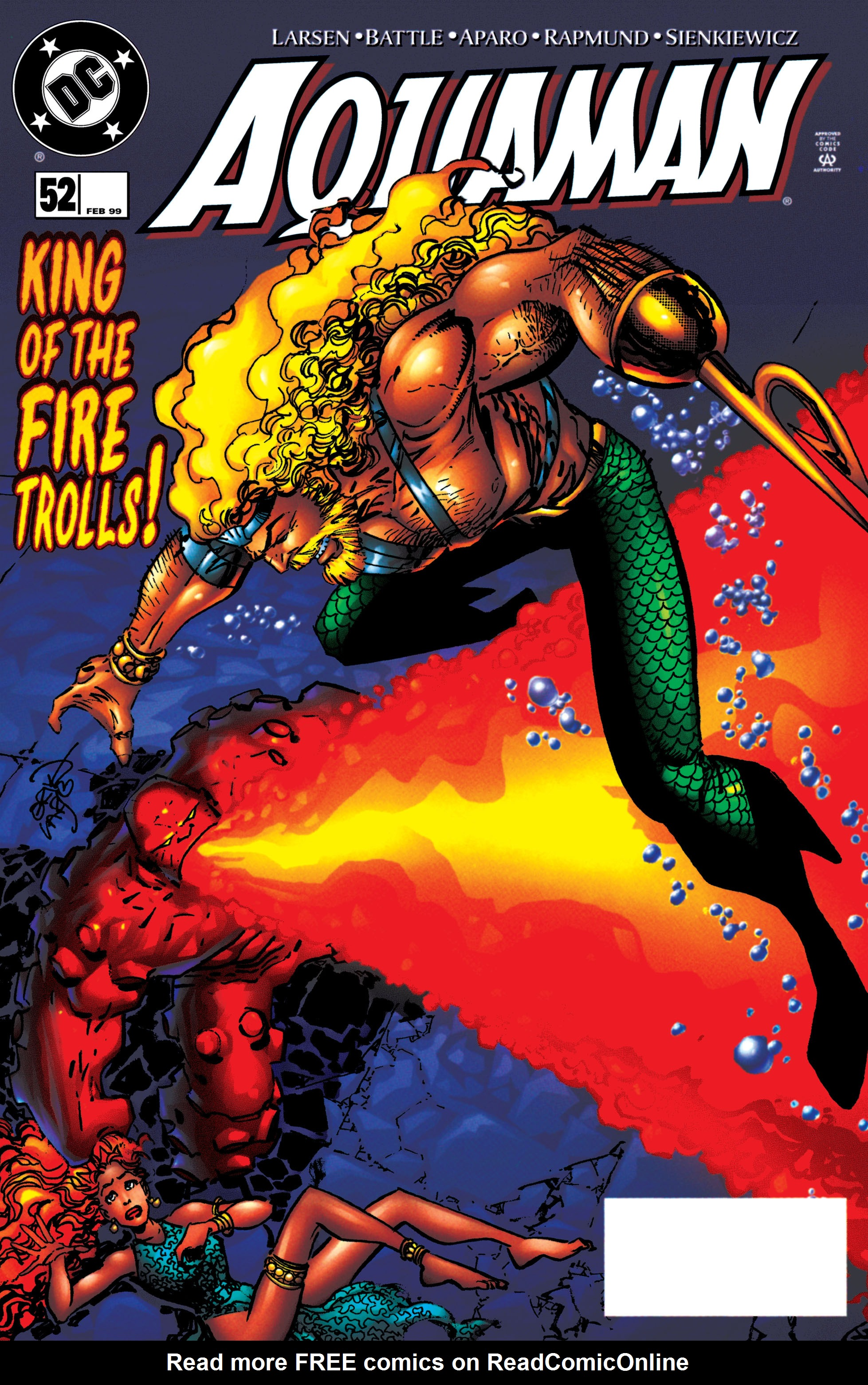 Read online Aquaman (1994) comic -  Issue #52 - 1