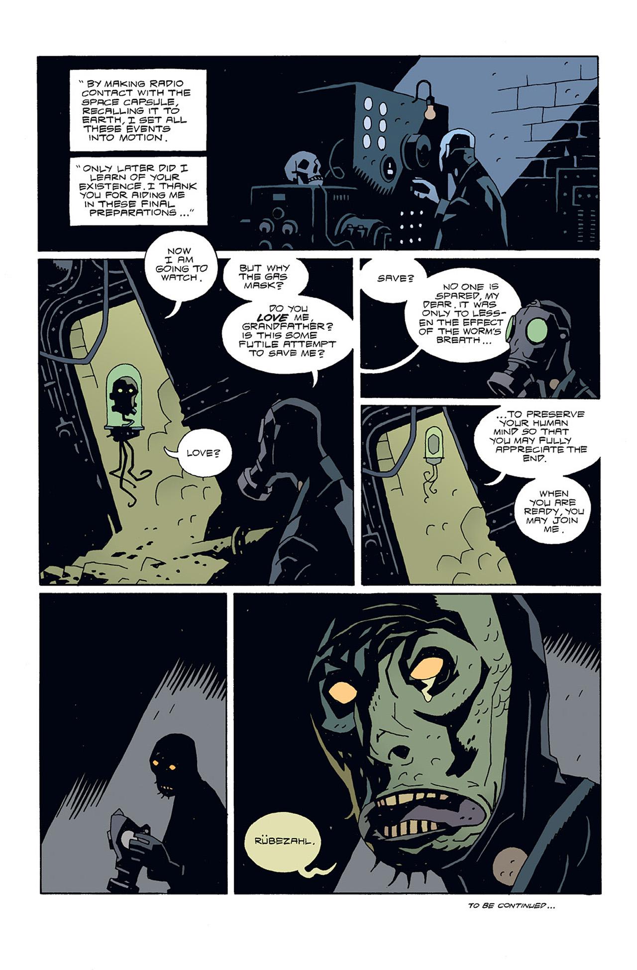 Read online Hellboy: Conqueror Worm comic -  Issue #3 - 30