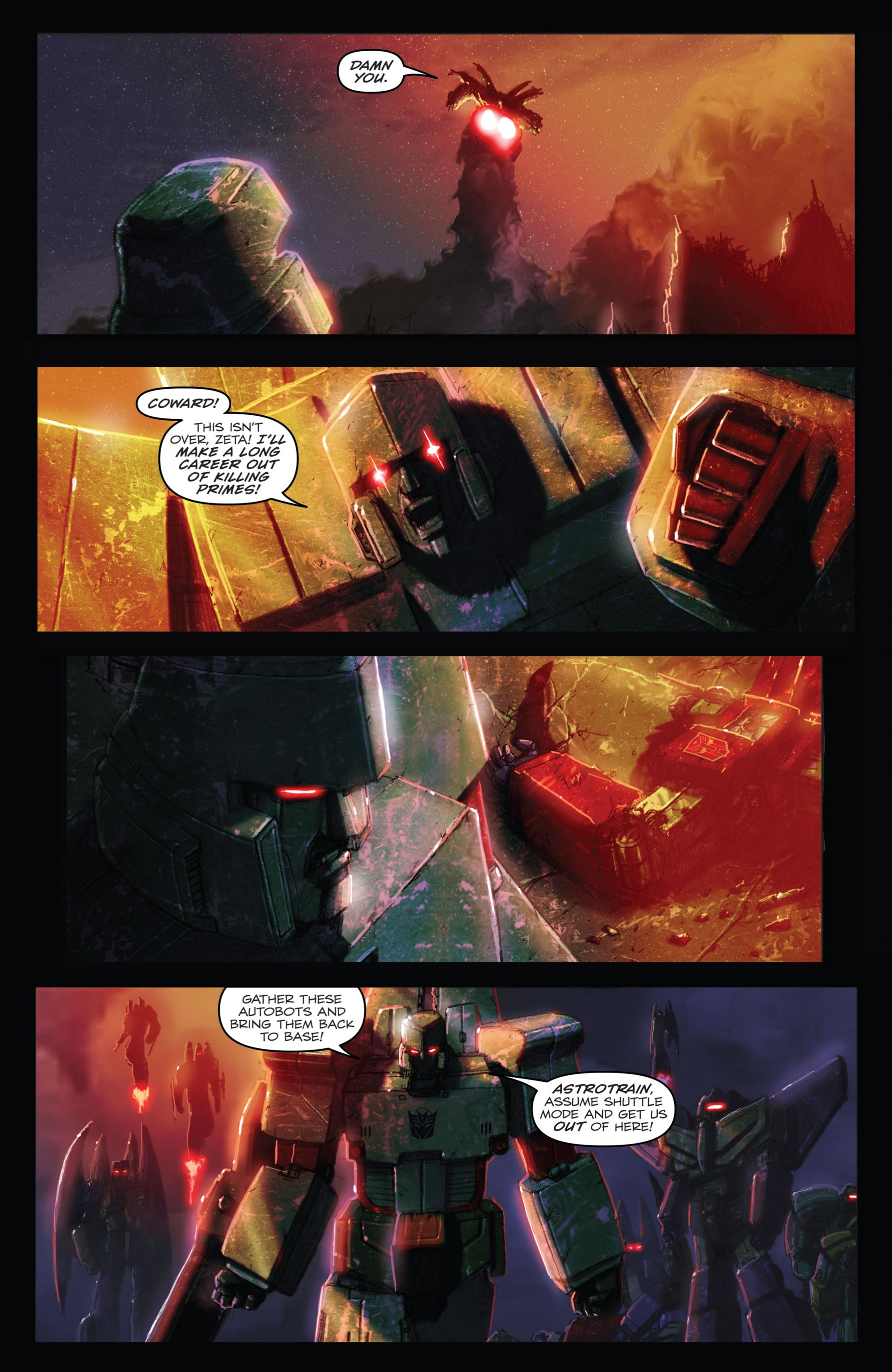 Read online Transformers: Autocracy comic -  Issue # Full - 65