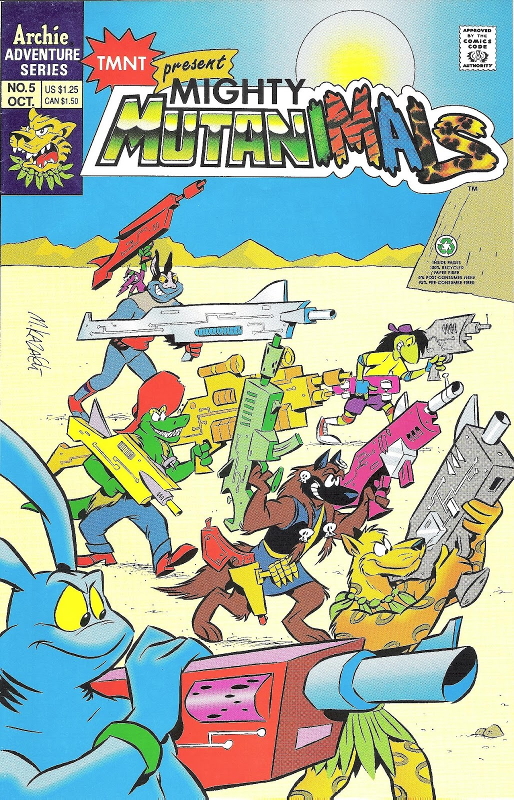 Mighty Mutanimals (1992) 5 Page 1