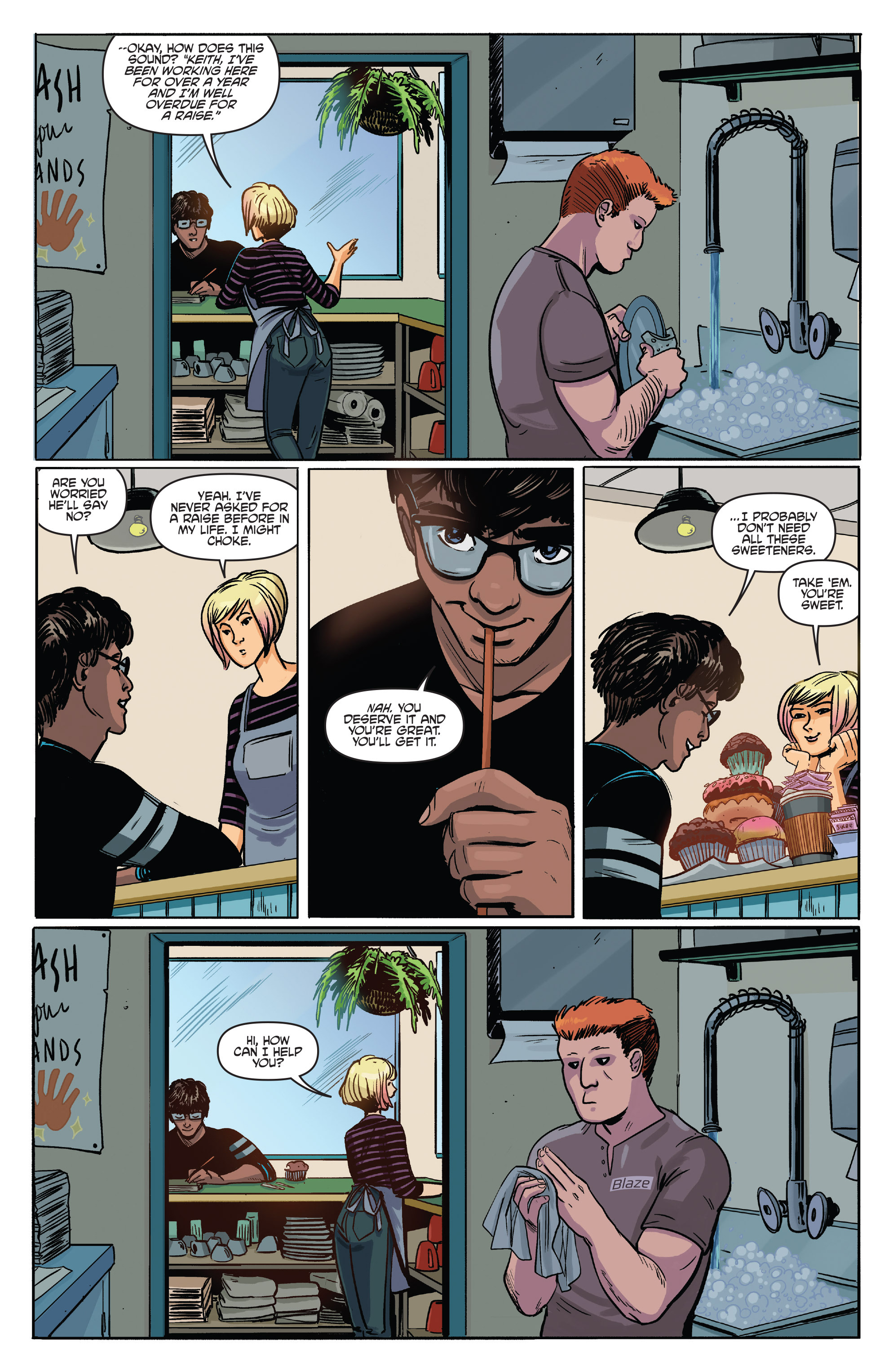 Read online Slam! comic -  Issue #3 - 12