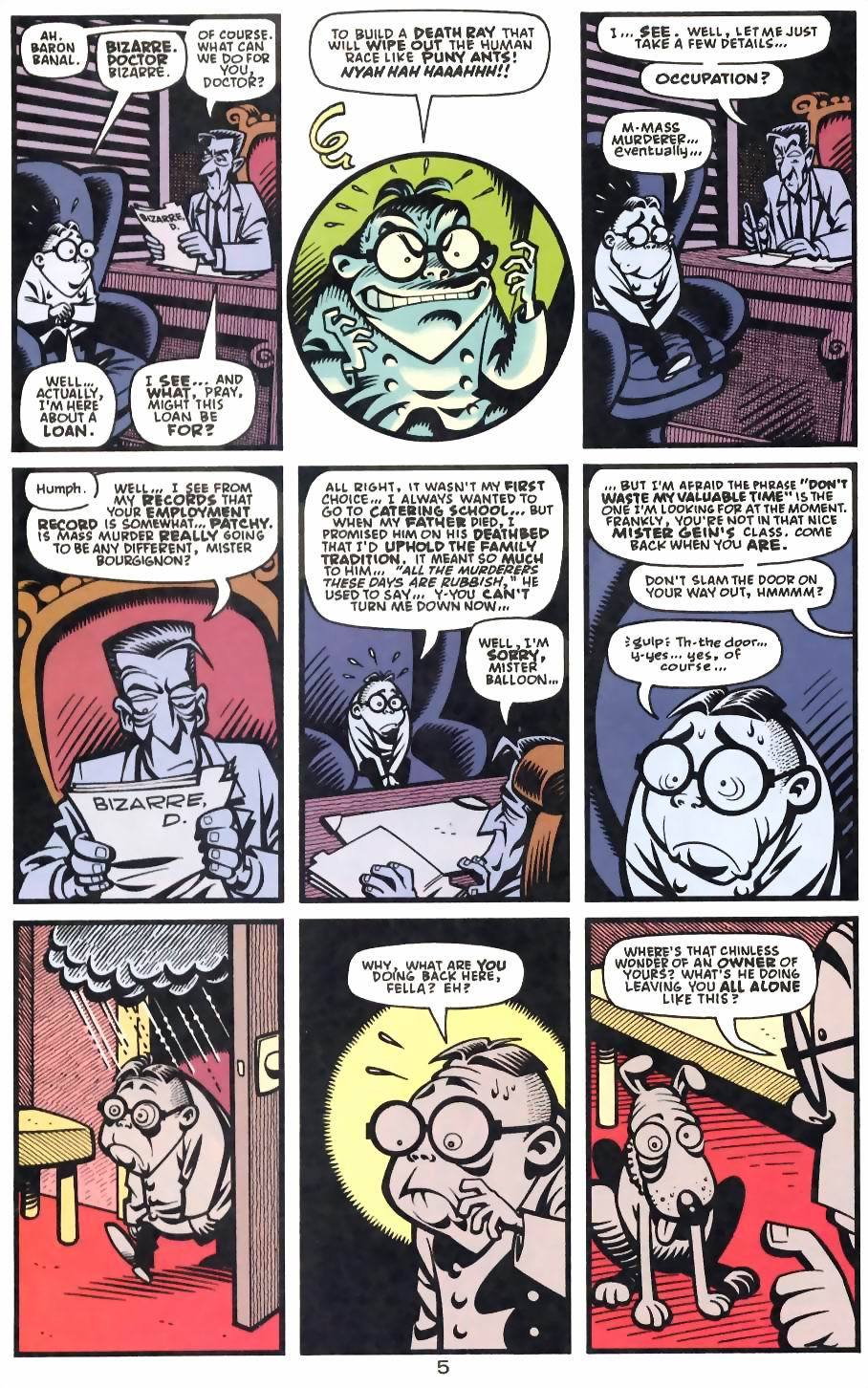 Read online Flinch comic -  Issue #13 - 14