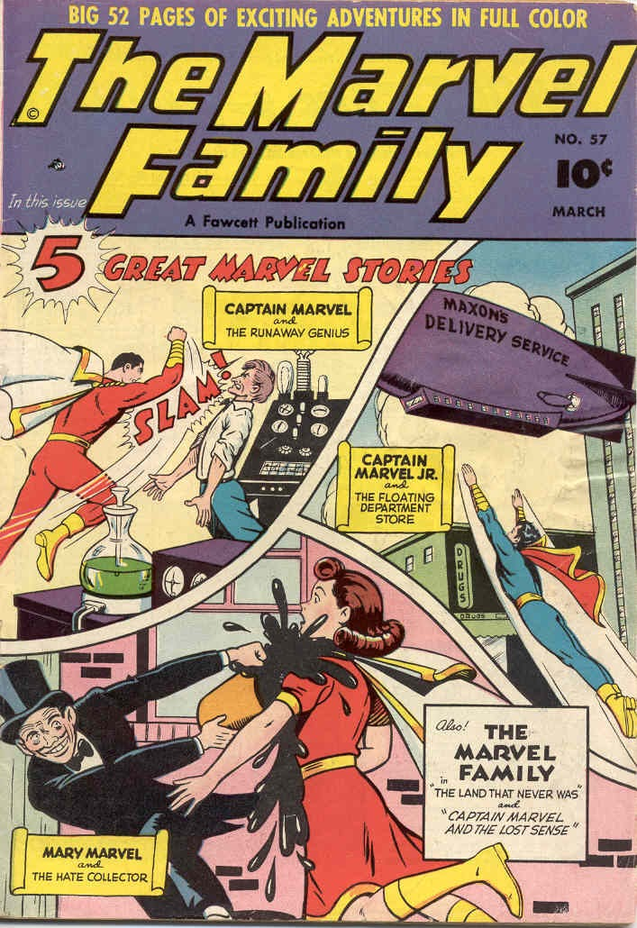 The Marvel Family 57 Page 1