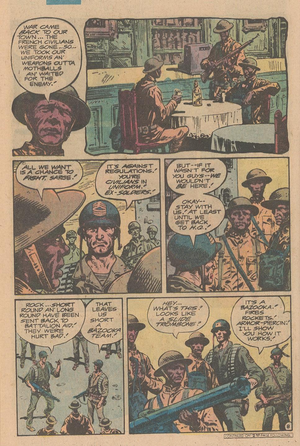 Read online Sgt. Rock comic -  Issue #355 - 9