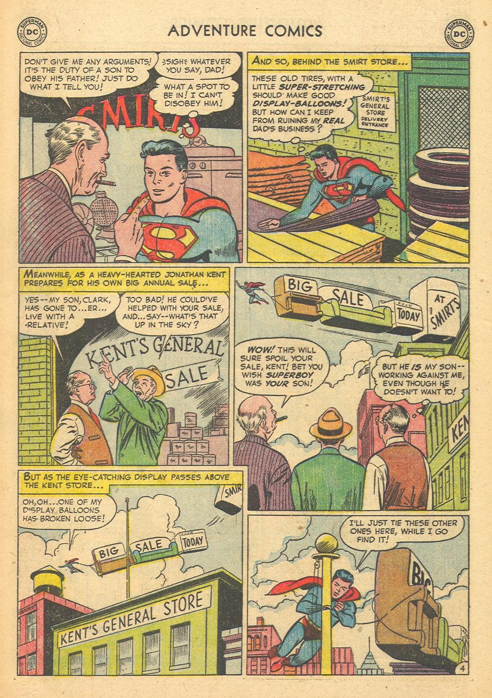 Read online Adventure Comics (1938) comic -  Issue #176 - 6