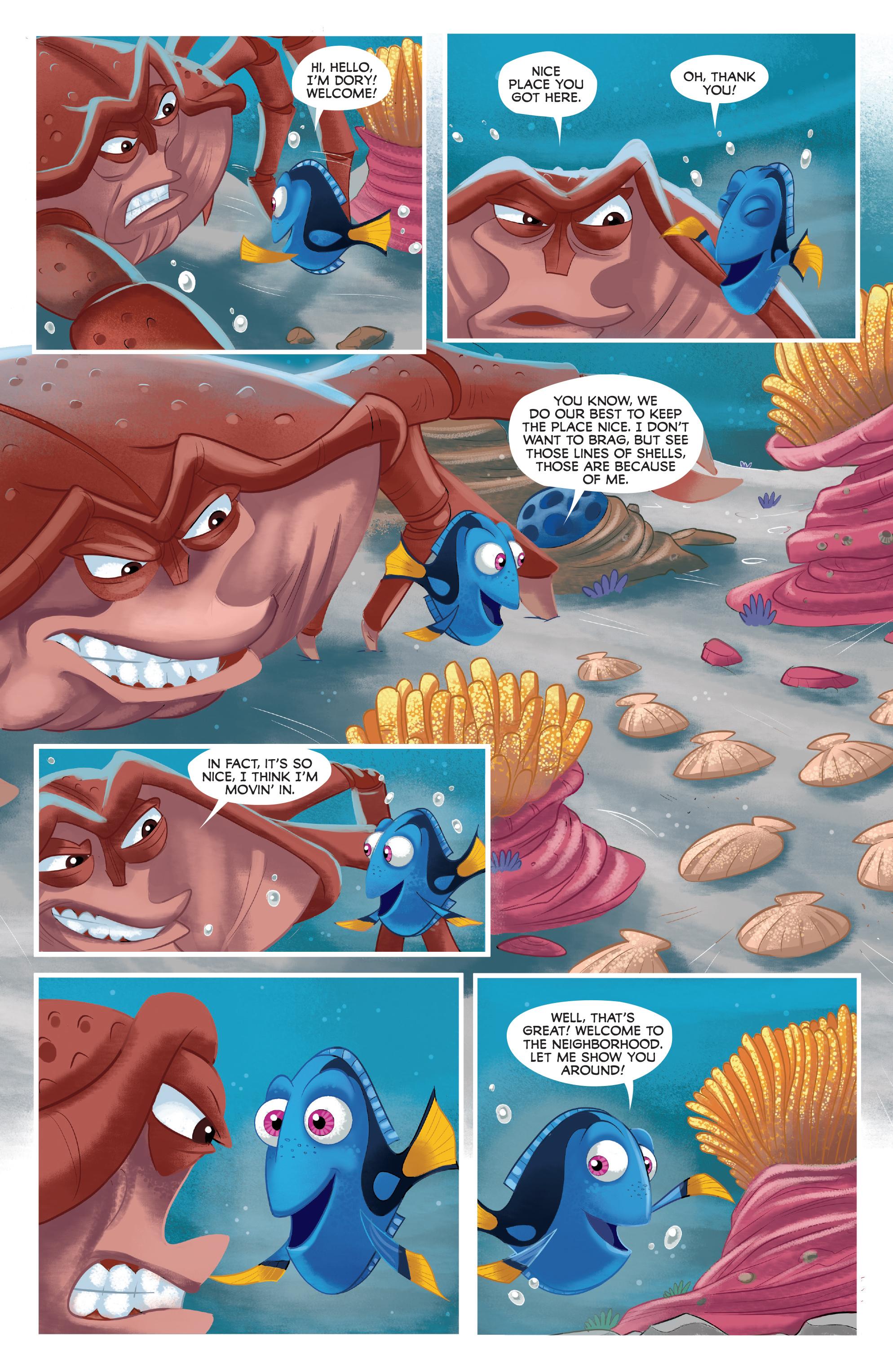 Read online Disney Pixar Finding Dory comic -  Issue #3 - 8