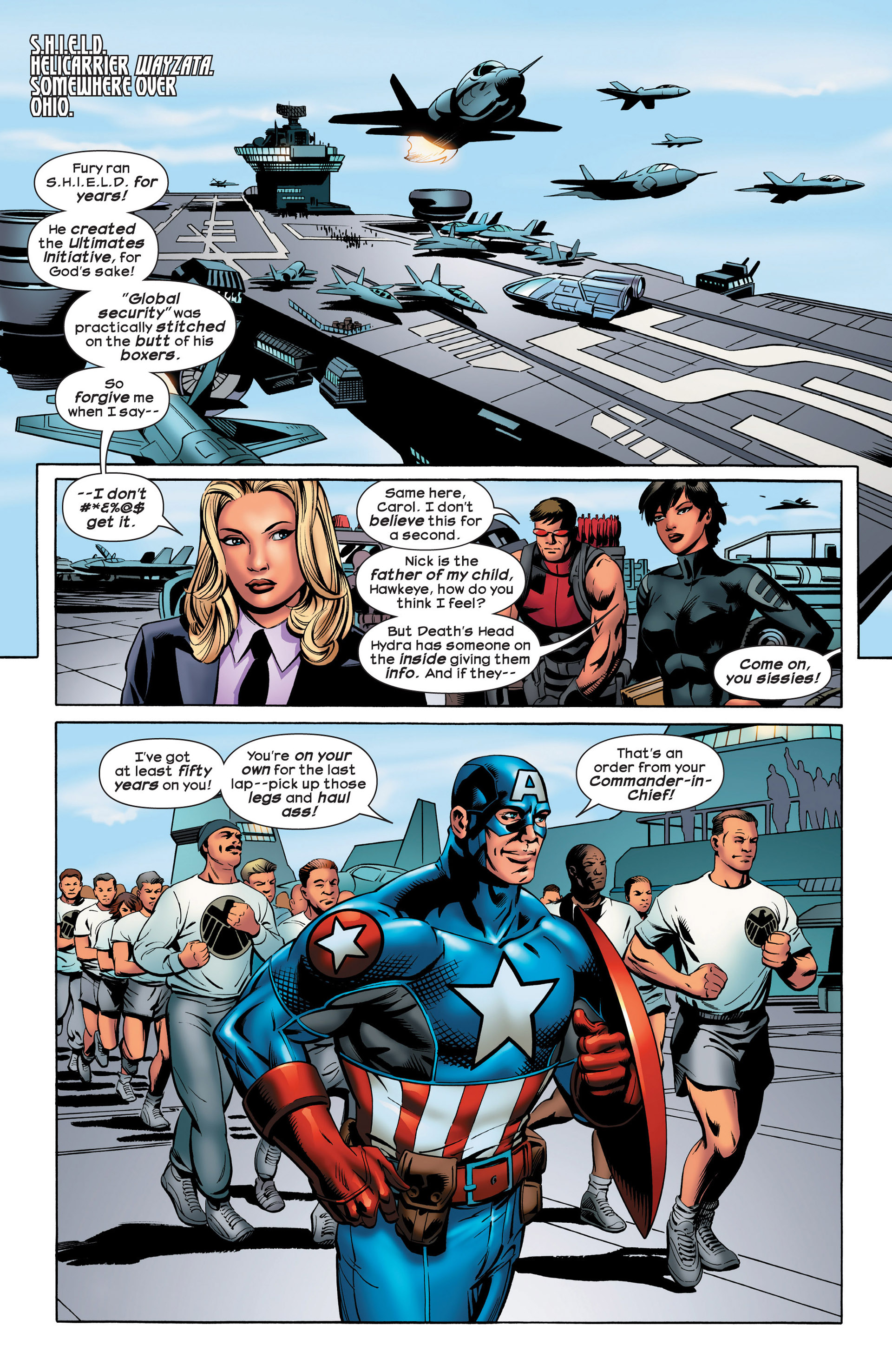 Read online Ultimate Comics Ultimates comic -  Issue #20 - 7