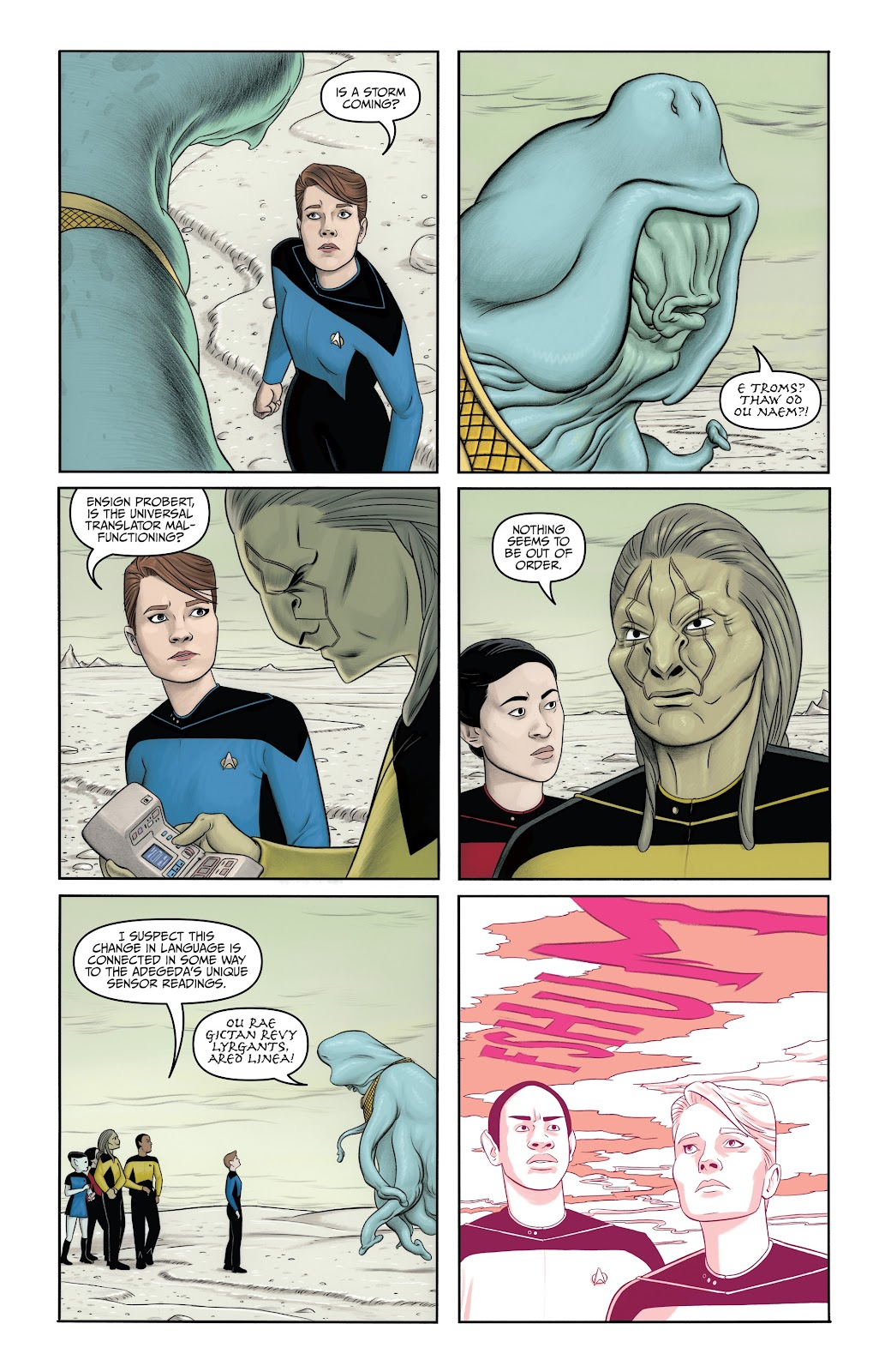 Read online Star Trek: Waypoint Special 2019 comic -  Issue # Full - 26