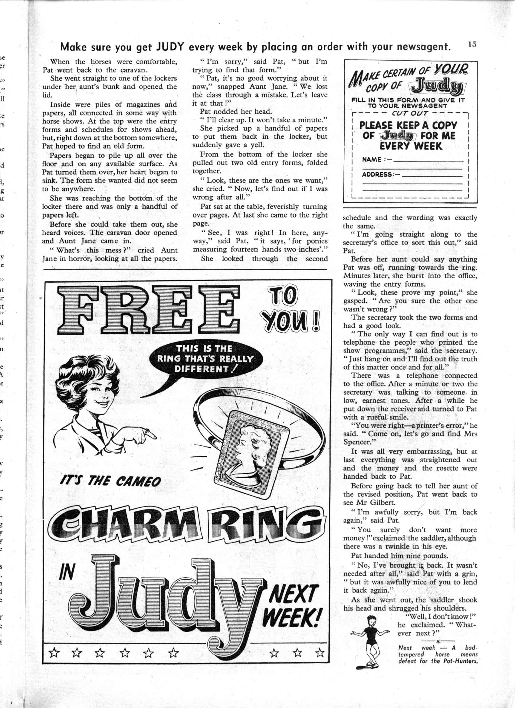 Read online Judy comic -  Issue #158 - 15