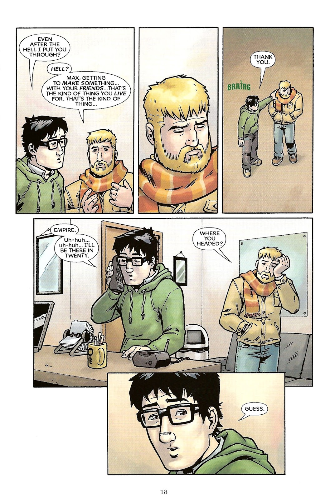 Read online The Escapists comic -  Issue #6 - 20