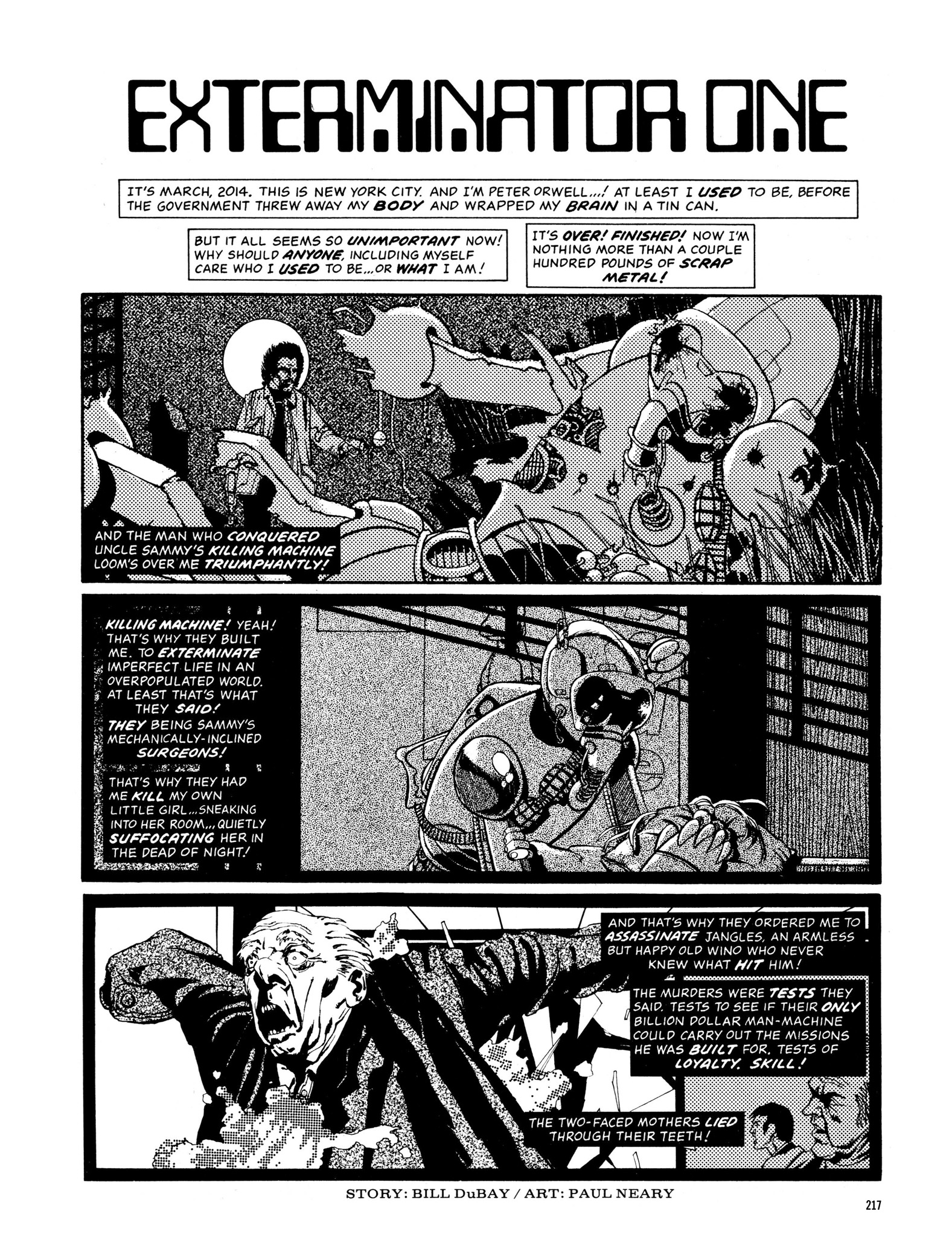 Read online Eerie Archives comic -  Issue # TPB 13 - 218