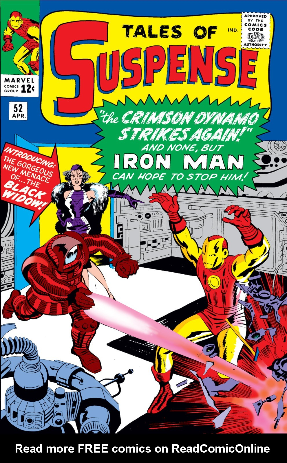 Tales of Suspense (1959) issue 52 - Page 1