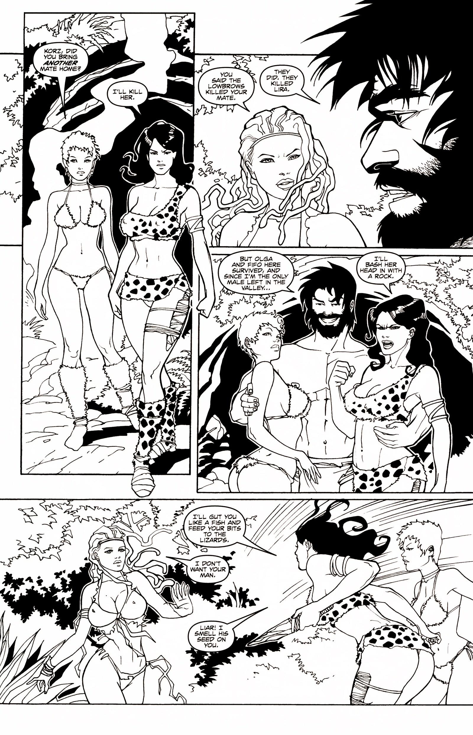 Read online Jungle Fantasy (2002) comic -  Issue # _Annual 1 - 18