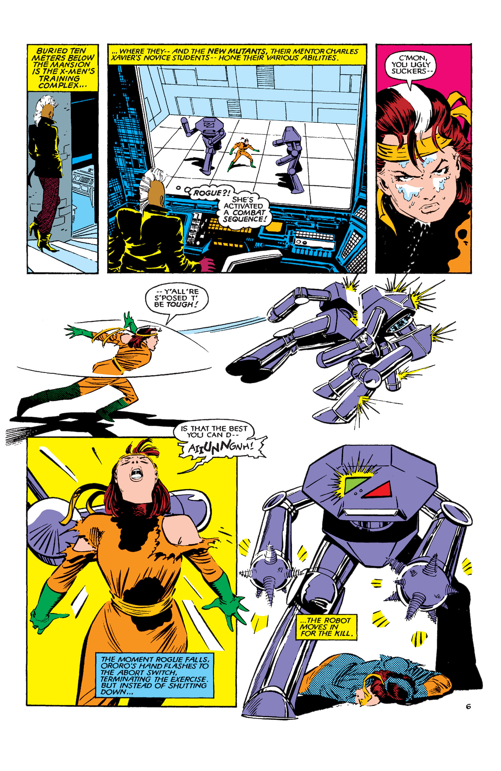 Read online Uncanny X-Men (1963) comic -  Issue #183 - 7
