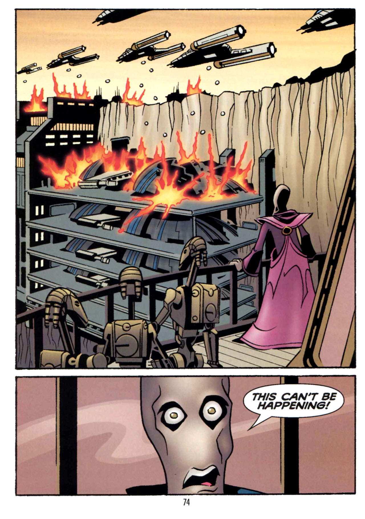Read online Star Wars: The Clone Wars - Shipyards of Doom comic -  Issue # Full - 72