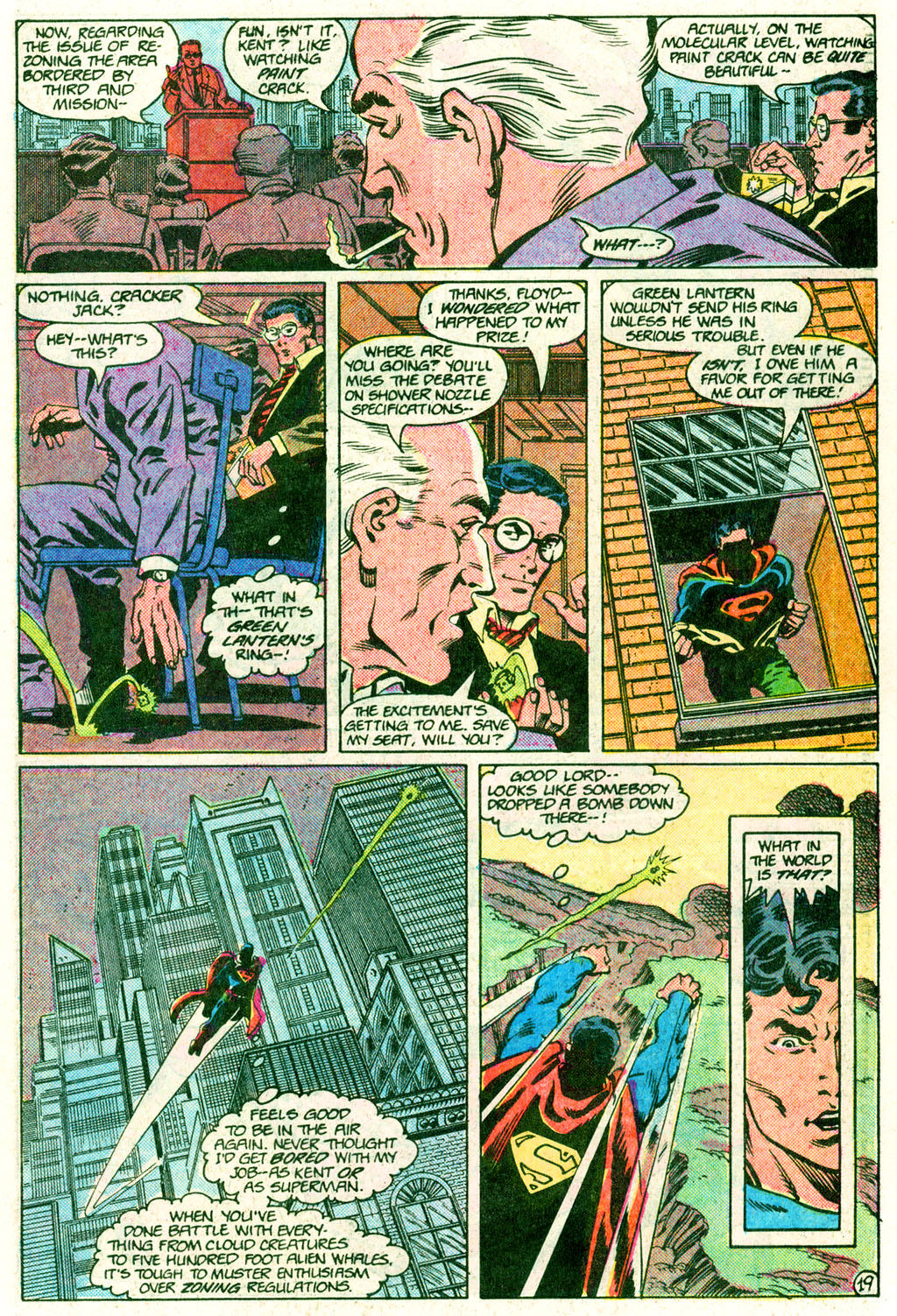 Read online Action Comics (1938) comic -  Issue #635 - 19