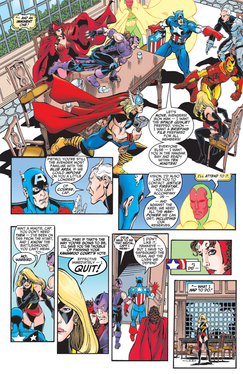 Read online Avengers (1998) comic -  Issue #7 - 8