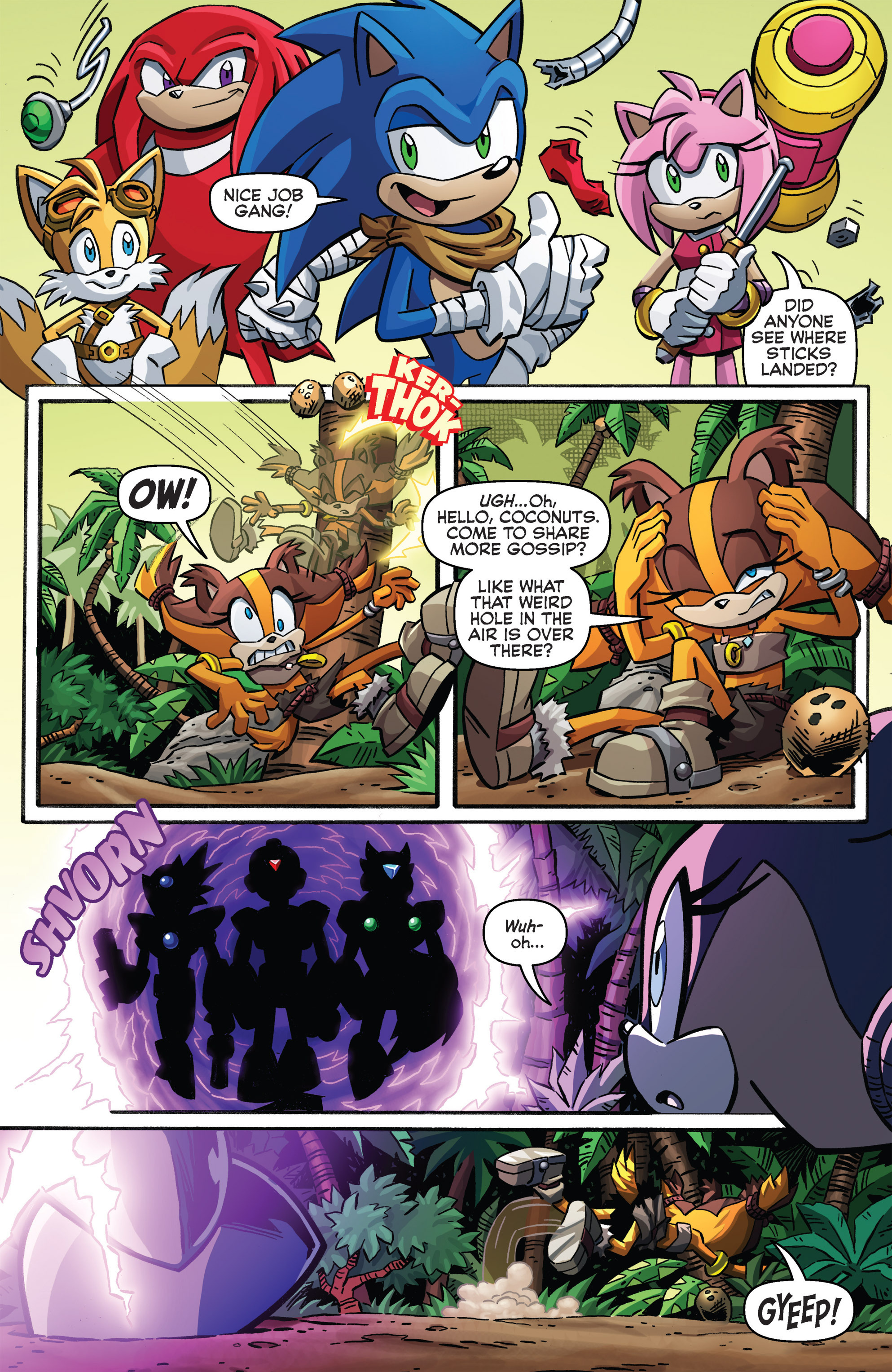 Read online Sonic Boom comic -  Issue #8 - 4