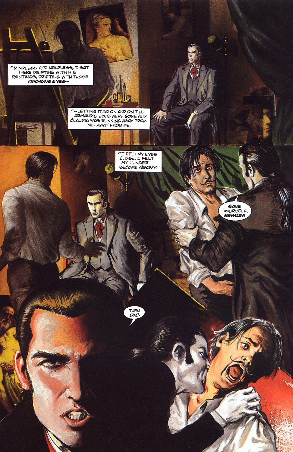 Read online Anne Rice's Interview with the Vampire comic -  Issue #9 - 15