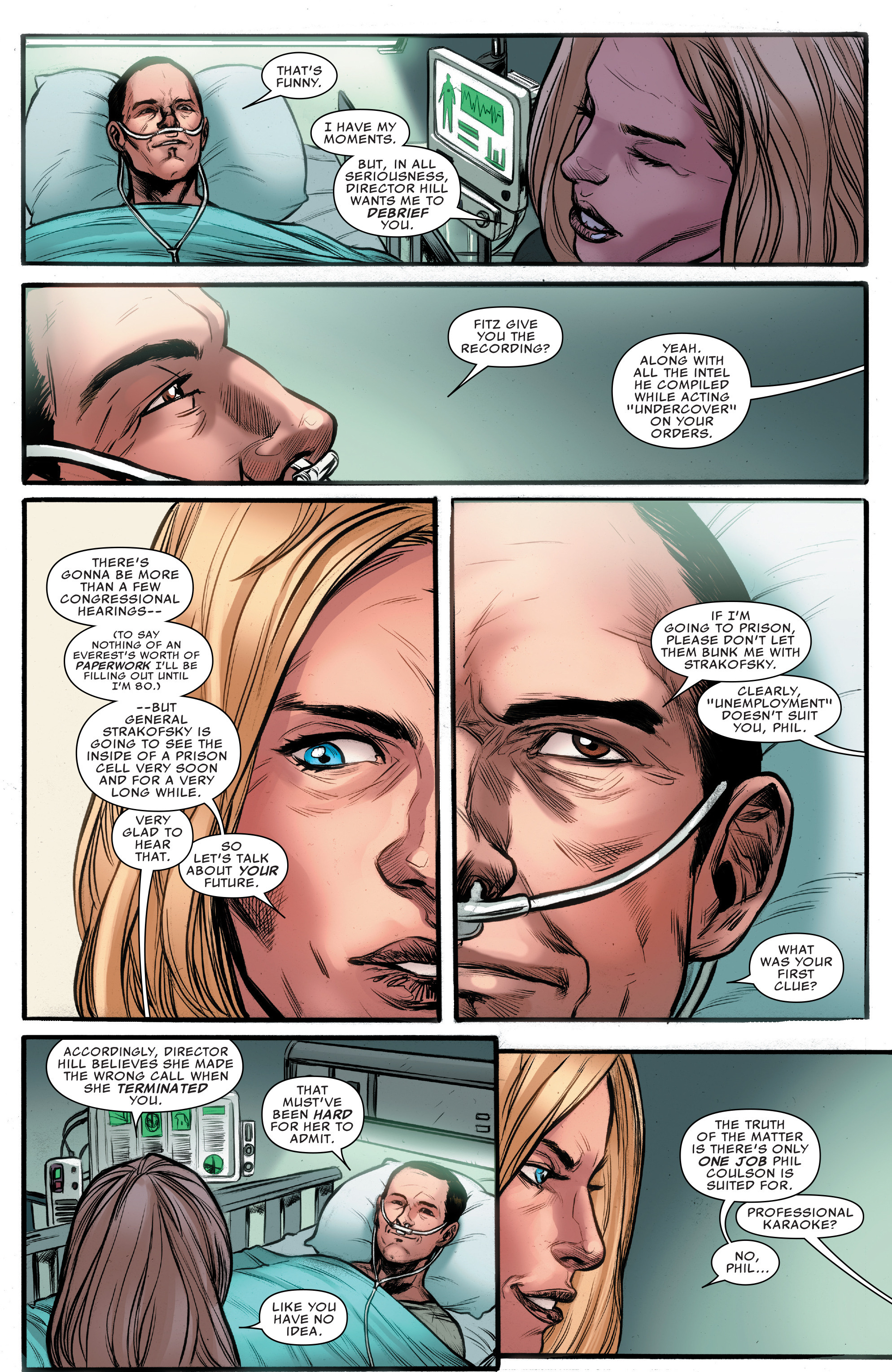 Read online Agents of S.H.I.E.L.D. comic -  Issue #10 - 21