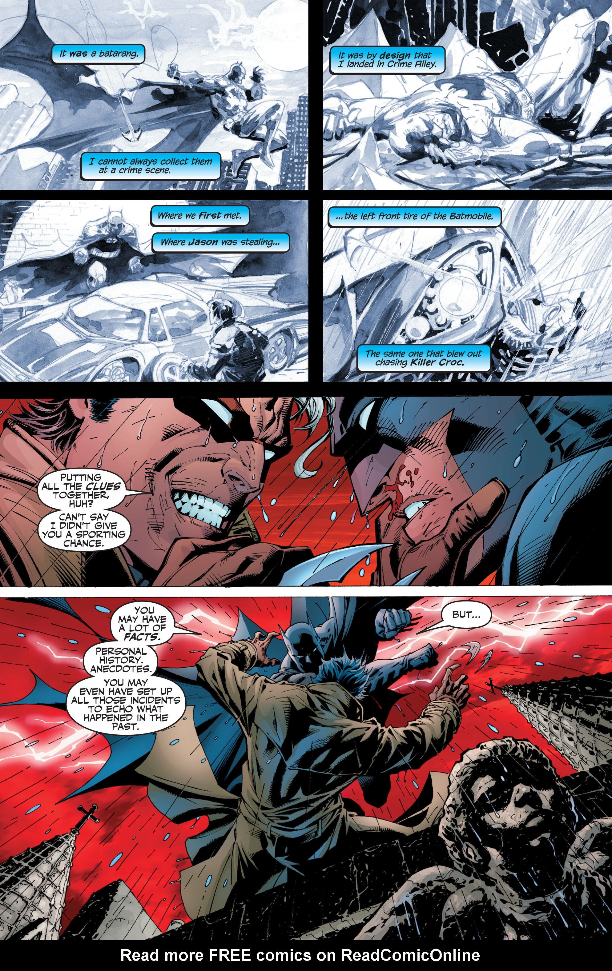 Read online Batman: Under The Red Hood comic -  Issue # Full - 372