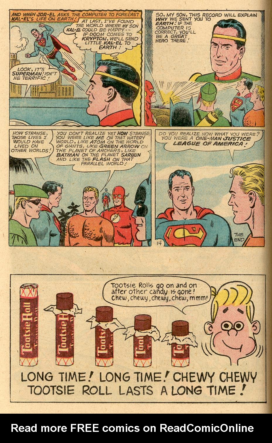 Read online Action Comics (1938) comic -  Issue #314 - 16