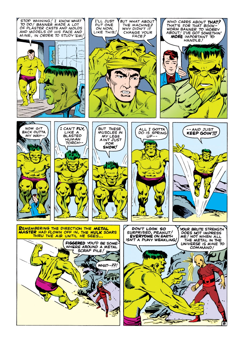 Read online Marvel Masterworks: The Incredible Hulk comic -  Issue # TPB 1 (Part 2) - 37