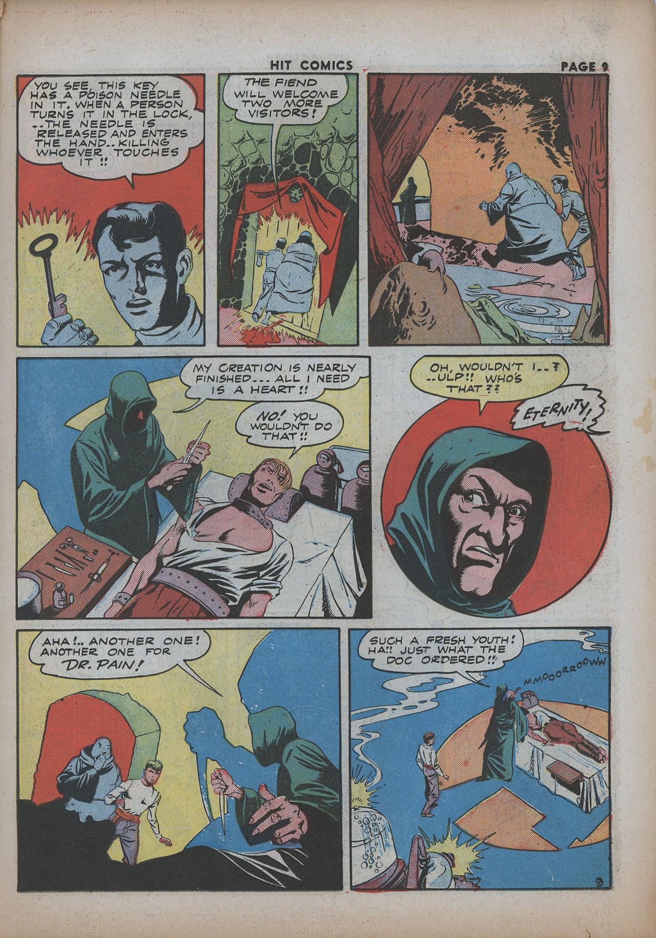 Read online Hit Comics comic -  Issue #26 - 11