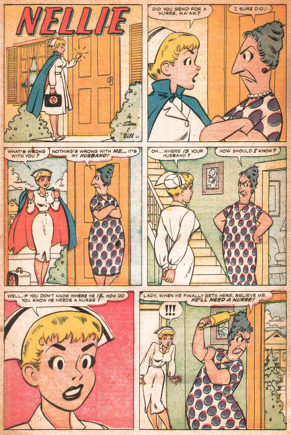 Read online Nellie The Nurse (1957) comic -  Issue # Full - 29
