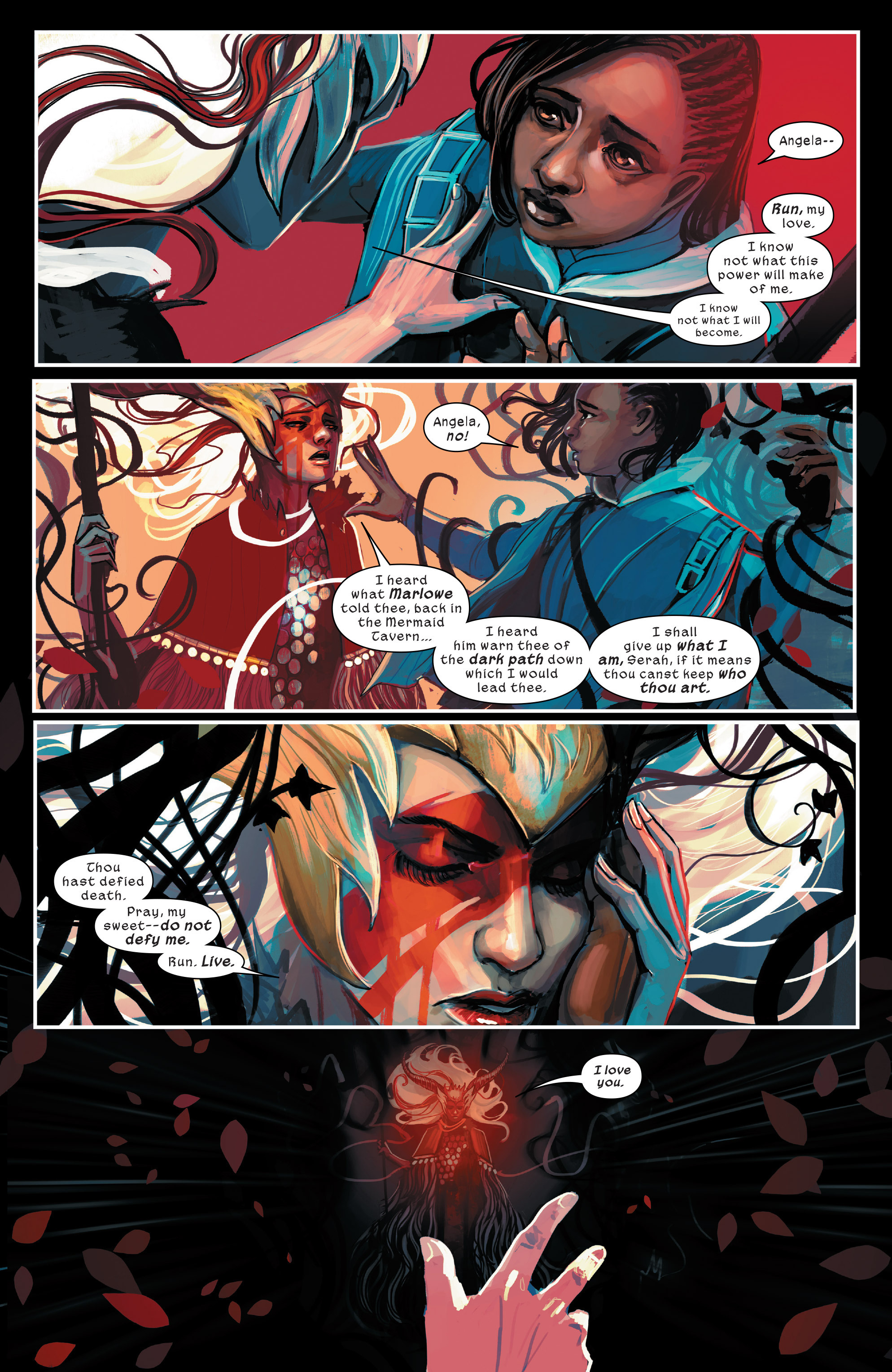 Read online 1602 Witch Hunter Angela comic -  Issue #4 - 13