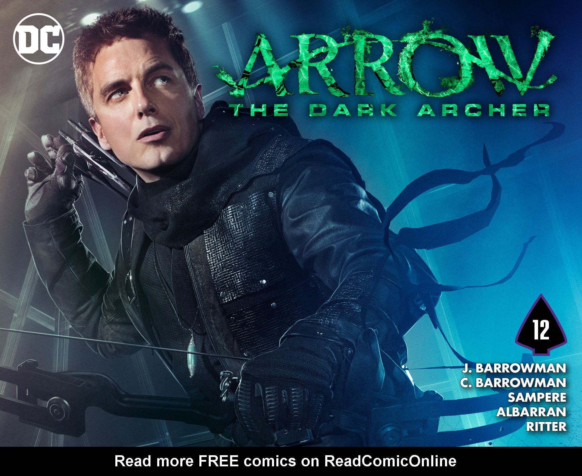 Read online Arrow: The Dark Archer comic -  Issue #12 - 1