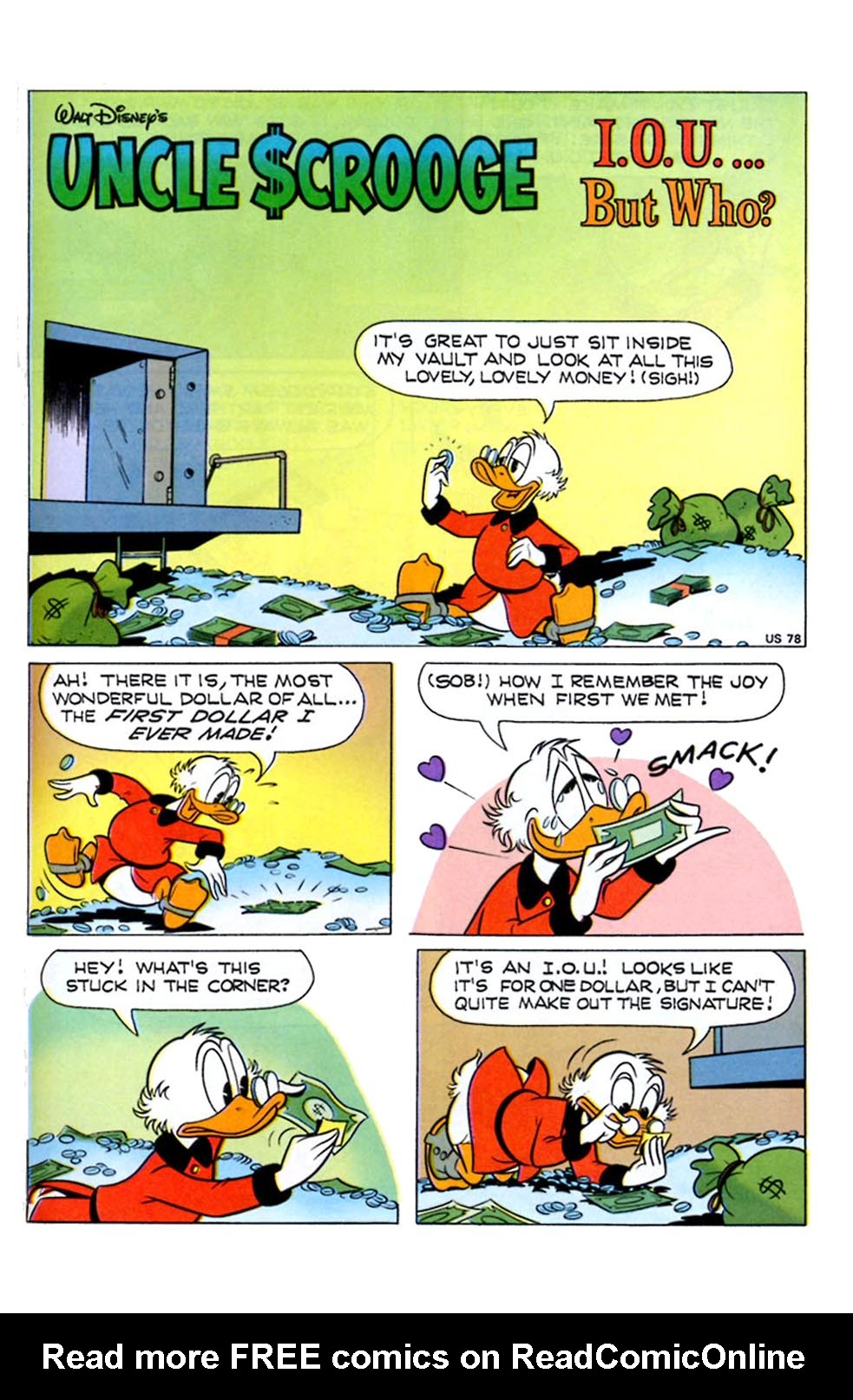 Read online Uncle Scrooge (1953) comic -  Issue #289 - 19