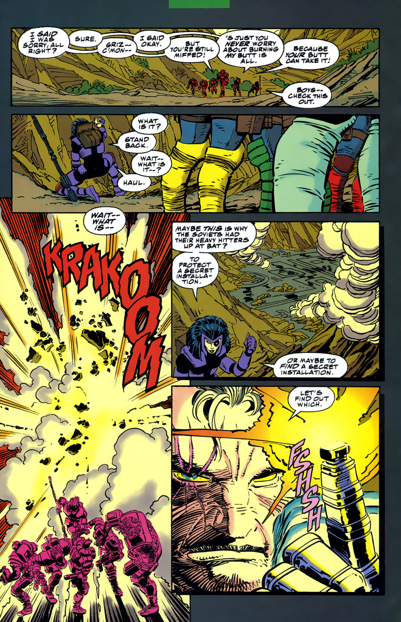 Read online Cable - Blood and Metal comic -  Issue #1 - 31